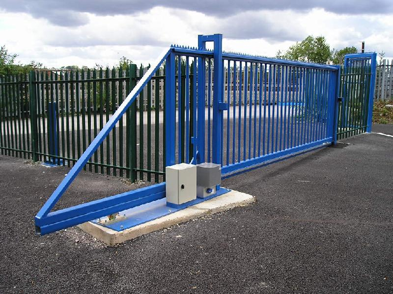 Gate automation and security systems electric gates for Electric motor for sliding gate